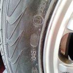 Schaden an einem Reifen